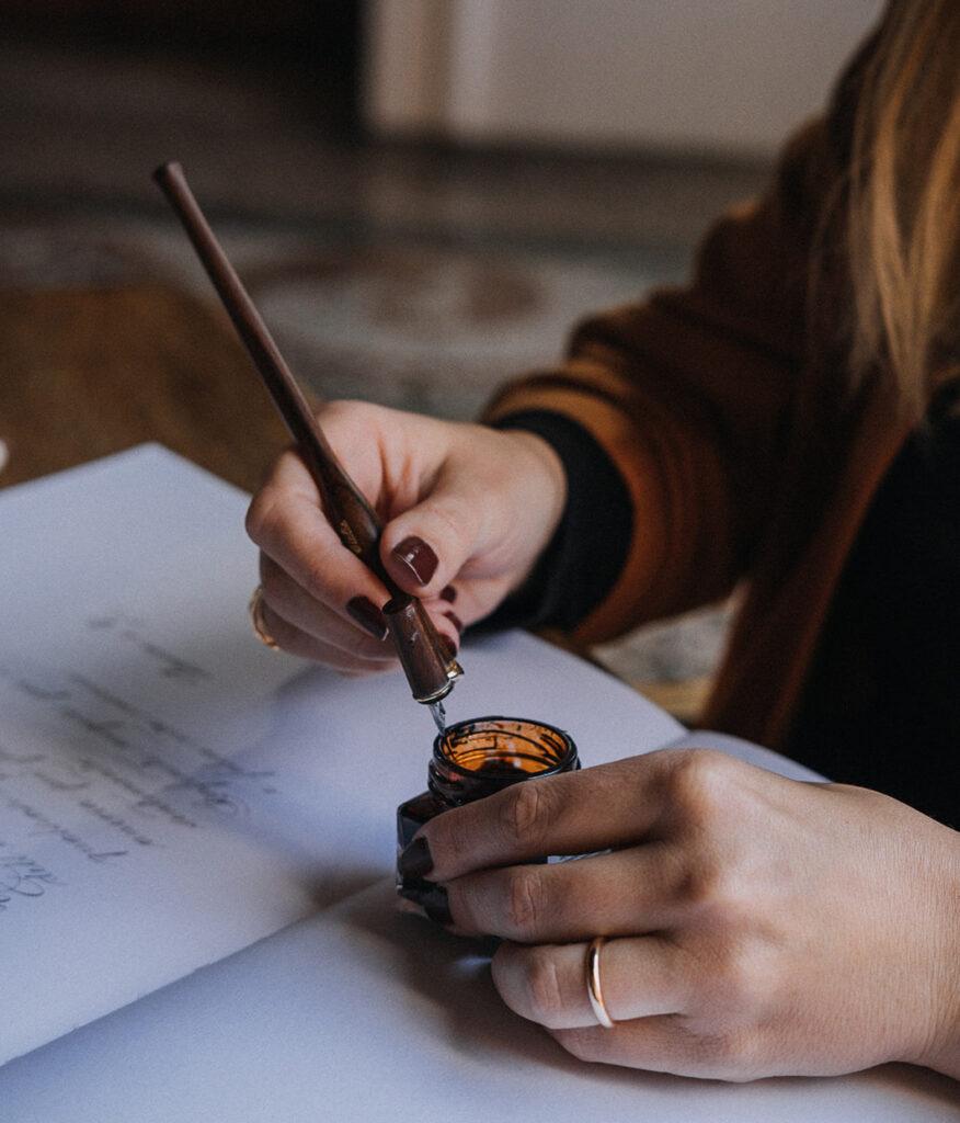 Calligrafia e bella scrittura